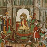 Миниатюры рукописи «Бабур-наме»