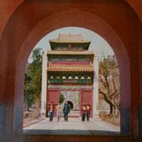 Архитектура Китая сер. XVII – сер. XIX вв.: погребальные сооружения