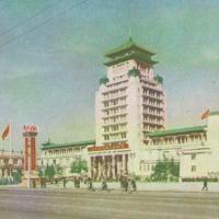 Архитектура Китайской Народной Республики. 1950-е - 60-е гг.