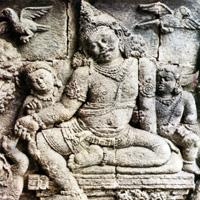 Буддийские чанди Мендут и Павон VIII-IX века