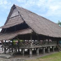 Индонезия, Малуку, традиционный жилой дом baileo