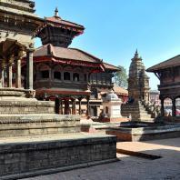 Непал, Бхактапур (Бхадгаон), ансамбль дворцовой площади (дюрбар)