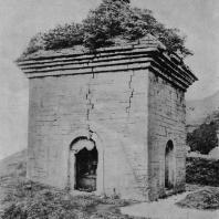 """Рис. 15. Сы-мынь-та (""""Пагода четырех ворот""""). VI в. н. э."""