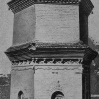Рис. 26. Пагода Бао-цин-сы близ Сиань. Эпоха Тан