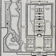 Рис. 41. План императорского дворца в Пекине