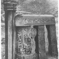 5. Бхархут. Часть восточного торана ступа (середина II в. до н. э.) Калькуттский музей