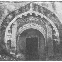 15. Барабар. Фасад пещеры Ломас-Риши (около 257 г. до н. э.)