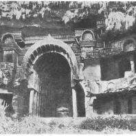 17. Бхаджа. Фасад чайтья (II в. до н. э.)