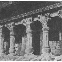 20. Назик. Фасад вихара Нахапана (II в. до н. э.)