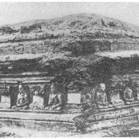 22. Шахр-и-Бахлаль. Основание малого ступа (II в. до н. э.)