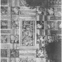 31. Аджанта. Роспись потолка пещеры № 1 (600 — 650 гг. н. э.)