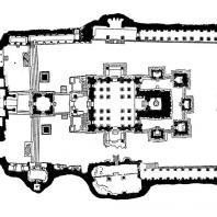 33. Элура. Храм Кайласанатха. План