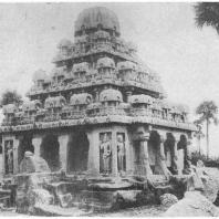 40. Мамаллапурам. Дхармараджаратха (VII в. н. э.)