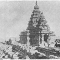 "41. Мамаллапурам. ""Прибрежный"" храм"