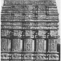 51. Бхуванешвара. Храм Капиладева. Деталь (IX в. н. э.)
