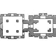 53. Бхуванешвара. Храм Лингараджа. План
