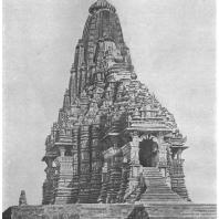 54. Кхаджурахо. Храм Кандарья-Махадева (около 1000 г. н. э.)