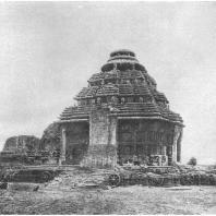 """59. Конарка. Храм Сурья или """"Черная Пагода"""" (середина XIII в. н. э.)"""