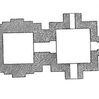 60. Конарка. Храм Сурья. План