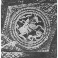 62. Конарка. Храм Сурья. Деталь декорации основания