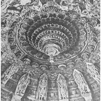 63. Гора Абу. Дильвара. Джайнский храм Теджахпала. Плафон центрального помещения (около 1232 г. н. э.)