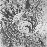64. Бенгалия. Джайнский храм. Плафон (XIII в. н. э.)