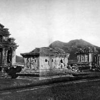 Чанди плато Дьенг. Общий вид. VIII-IX вв.