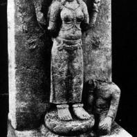Парвати. Камень. VIII в. Центральная Ява