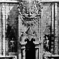 Южный портал чанди Каласан. VIII-IX вв.