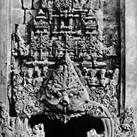 Арочный декор кала-макара. Чанди Каласан. VIII-IX вв.
