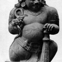 Статуя стража. Чанди Каласан. Камень. VIII-IX вв.