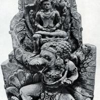 Вишну-Эрлангга на Гаруде. Бассейн Белахан