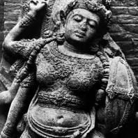 Дурга. Чанди Сингосари. Фрагмент