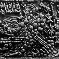 Рельеф из травулана. Фрагмент. XIV в. Восточная Ява