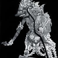 Равана. Кукла теневого театра. Пергамент. XVI-XVII вв.
