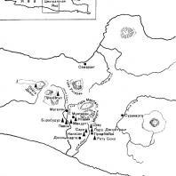 Карта Центральной Явы