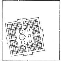 План комплекса чанди Лоро Джонггранг