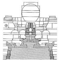 План-реконструкция центральной части бассейна Джалатунда