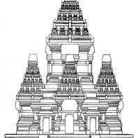 План-реконструкция чанди Сингосари