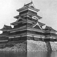 Замок Мацумото. Общий вид