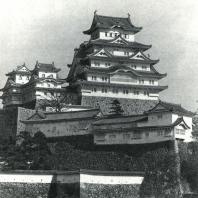 Замок Химэдзи. Стены и башни. 1609