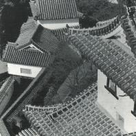 Замок Химэдзи. Стены и ворота. Вид сверху