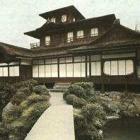 Павильон Хиункаку, первоначально часть дворца Дзюраку-дай. Конец XVI - начало XVII в. Нисихон-гандзи, Киото