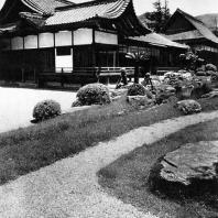 Самбоин. Вид со стороны сада. 1598. Дайгодзи, Киото