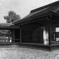 Нисихонгандзи. Сцена театра Но. 1681. Киото