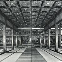 Нисихонгандзи. Главный приемный зал. Интерьер. Начало XVII в. Киото