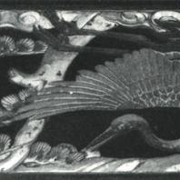 Образцы декоративной резьбы. Дерево, позолота. Нисихонгандзи, Киото