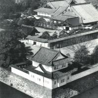 Замок Нидзё. Общий вид. 1624-1626. Киото
