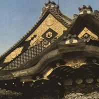 Замок Нидзё. Фронтон главного входа