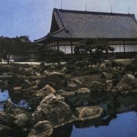 Замок Нидзё. Дворец Ниномару, вид со стороны сада